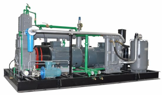 30bar High Pressure Pet Bottle Blowing Air Reciprocating Compressor (KSP37/22-30) pictures & photos