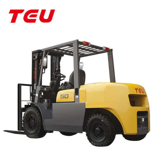China Top Brand, Load 5000kg Diesel Automatic Forklift, Fd50TF pictures & photos