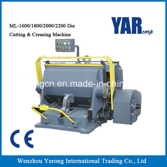 High Quality Ml Series Die Cutting & Creasing Machine with Ce for Sale pictures & photos