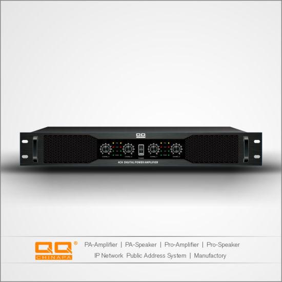 China La-300X4h OEM Digital Power Amplifier Sound Standard with Ce 4