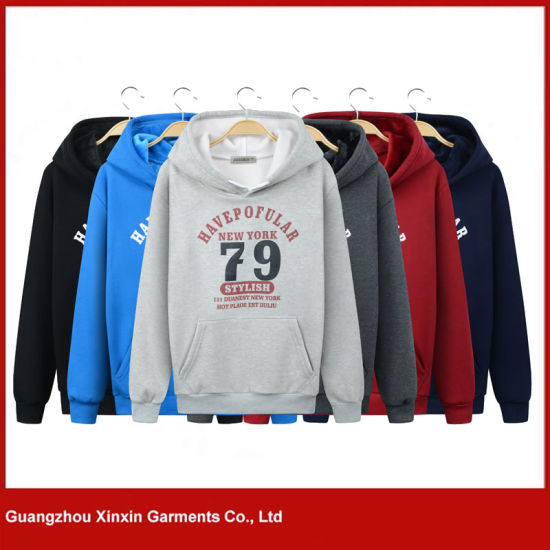 Factory Custom Made High Quality Winter Hoody Jacket (T182)