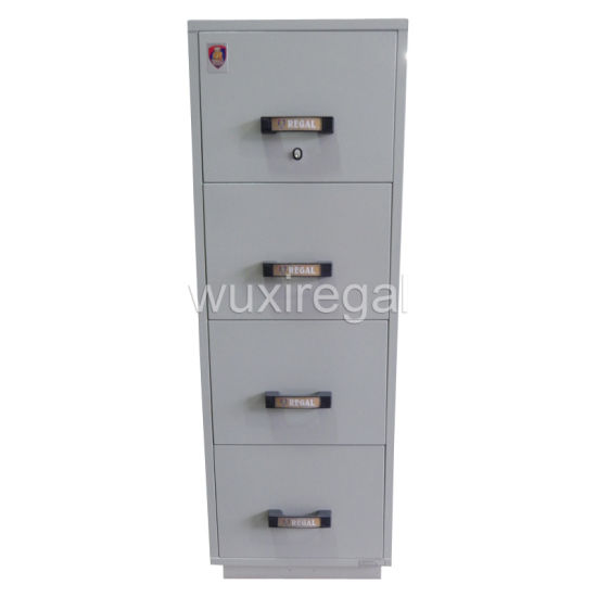 UL 2-Hour Fire-Resistant Filing Cabinet, High Quality Office Furniture (UL824FRD-II-4001)