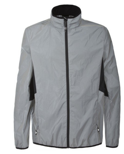 Men's Outdoor Sports Lightweight Ultra Reflective Running Jacket