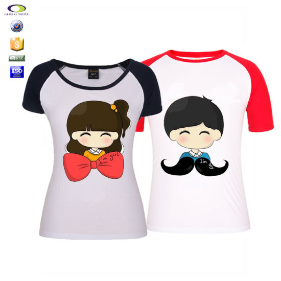 Design Korean Fashion Family Love Couple T Shirt China Couple T Shirt And Fashion Design Couple T Shirt Price Made In China Com