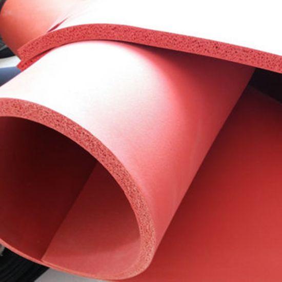 Colorful Soft Antiskid Wearproof Noise Reduction Foam Sponge Rubber Sheets Roll