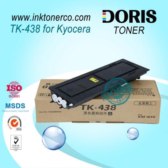 Tk438 Tk-438 Copier Toner Powder for Kyocera Km-1648 Km1648