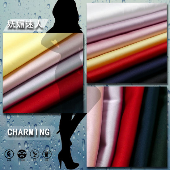 5%Spandex 95%Polyester Fabric for Pants Coat Curtain pictures & photos