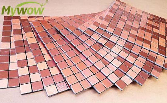 MyWow Aluminum Mosaic Tile for Kitchen Backsplash