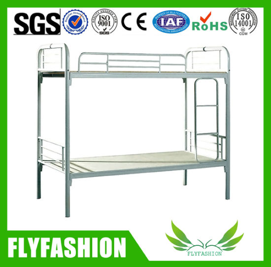 School Simple Modern Double Metal Bunk Bed (BD-34)