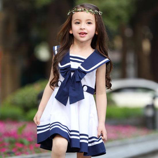 f60176a4d Custom Stylish Pleated Dress Girls School Uniform Design Primary School  Girls Pinafore