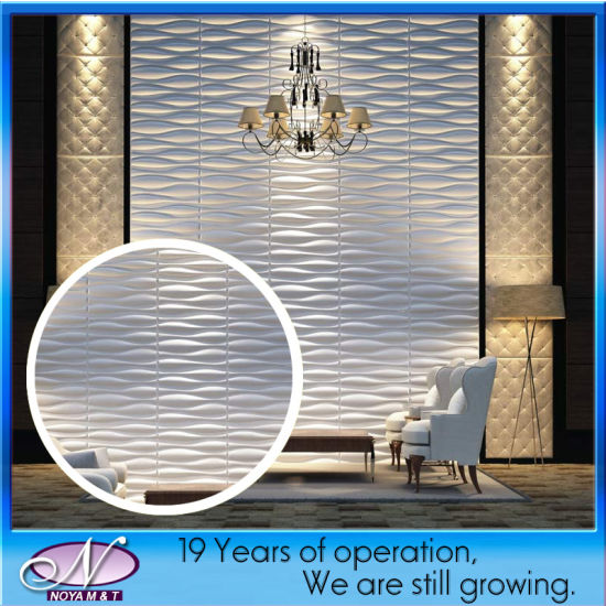 Prefab Modern Acoustic Fiber 3D Panel for Wall Dividers Decorative pictures & photos