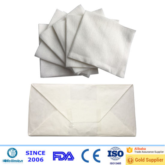 Disposable Nonwoven Beauty Cleaning Swabs pictures & photos