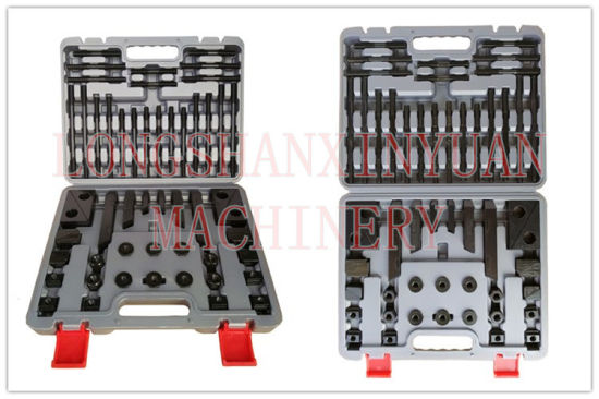 "1/2""-13-9/16"" Deluxe Steel High Hardness 58PCS Clamping Kit in Toolbox pictures & photos"