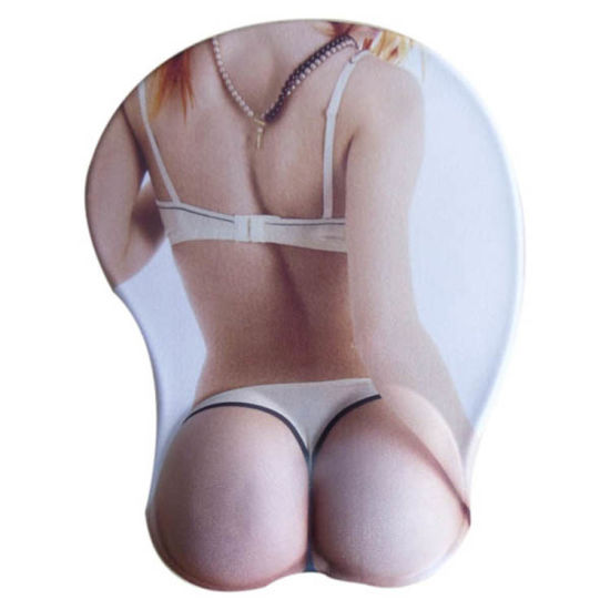 Hot Selling Custom Sexy Girl Photo 3D Gel Mouse Pad pictures & photos