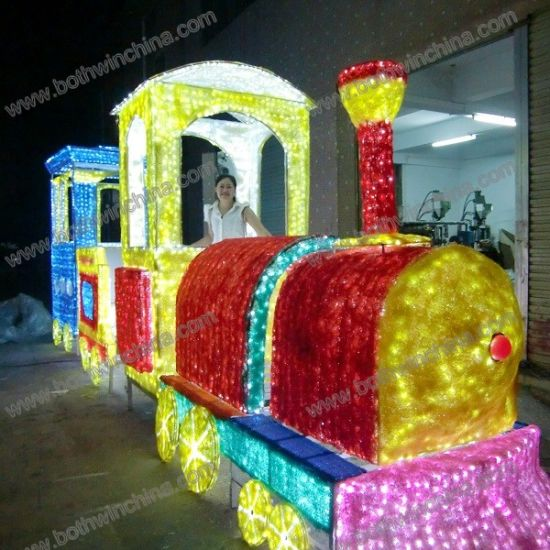 7m Length Big Train Acrylic LED Christmas Light for Decoration pictures & photos