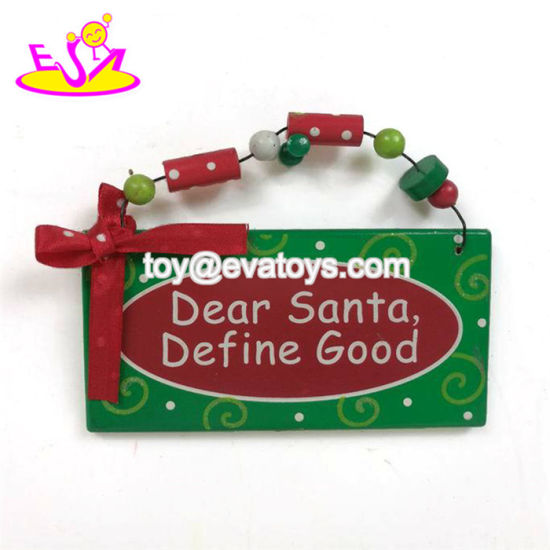 Best Promotional Wooden Christmas Wall Art for Wholesale W09d038