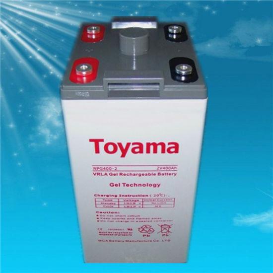 2V400ah Advanced Gel Battery Solar Battery