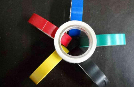Flame Retardant PVC Electrical Adhesive Tape pictures & photos