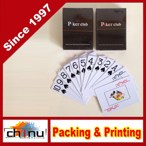 Poker Club Big Index Casino Waterproof PVC Plastic Playing Cards (431014) pictures & photos