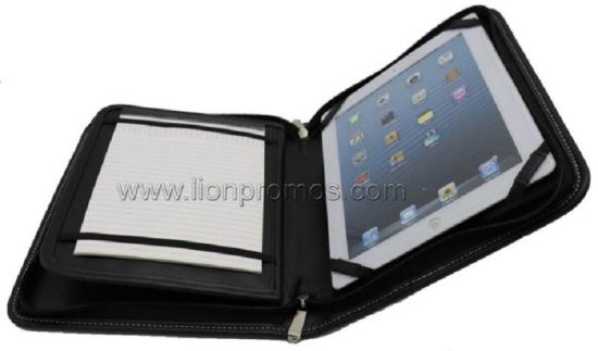 Custom Logo Office Gift Compendium Document Holder with iPad Cover pictures & photos