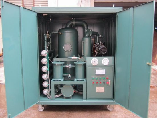 Enclosed Type High Vacuum Transformer Oil Filtration Machine