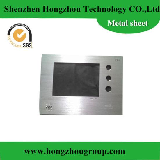 OEM Stainless Steel Sheet Metal Fabrication Front Panel Metal