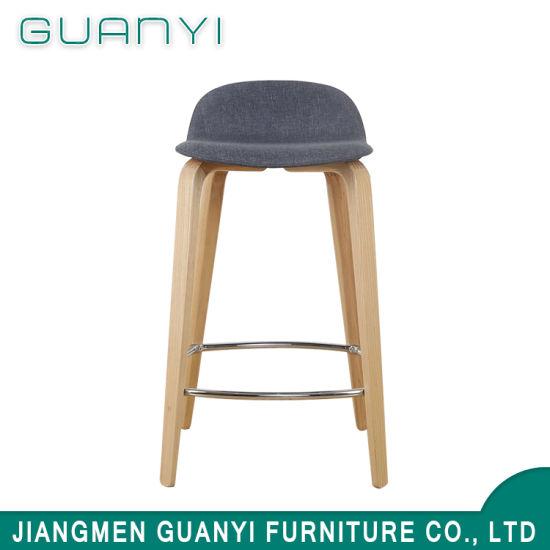 2018 Cheap Modern Classic Furniture Square Wooden Bar Stool