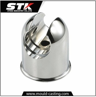 Customed Shelf Fittings Chrome Plated Zinc Die Casting pictures & photos