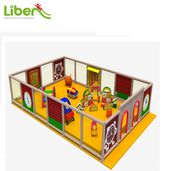 China Liben High Quality Used Indoor Soft Kids Play Structure