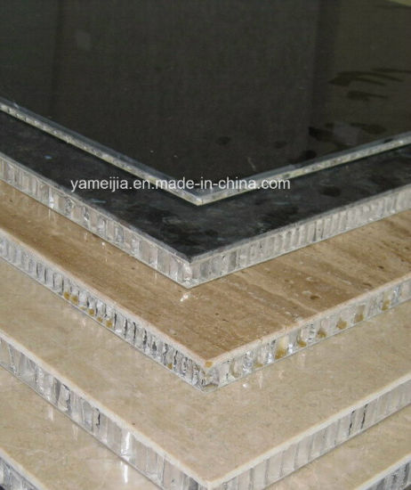 Aluminum Honeycomb Marble Panels for Exterior and Interior Decoration pictures & photos