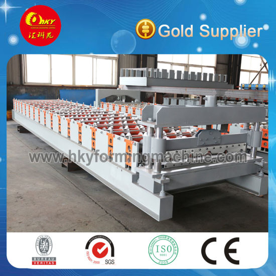 Hot Selling High Quality Metal Roofing Sheet Tile Making Machine with Ce Certificate
