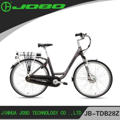 2017 New Electric City Bike with Front Wheel Hub Motor, JB-TDB28Z