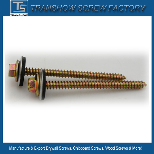 4.8mm 5.5mm 6.3mm Hex Flange Head Roofing Screw pictures & photos