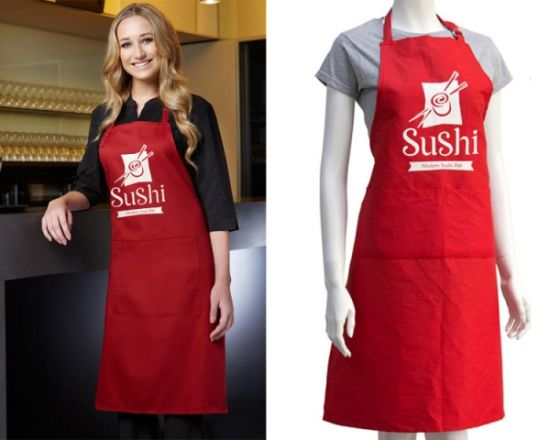 Promotion Apron, Printing Apron, Apron, Cotton Apron, Polyester Apron pictures & photos