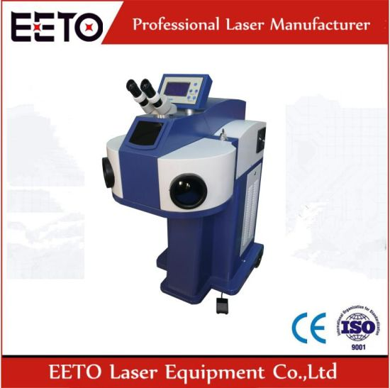High Accuracy of Laser Spot Welding Machine for Gold