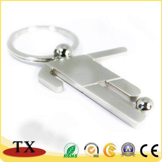 Wholesale Custom Sports Metal Keychain