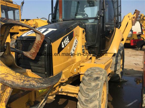 China Used Cat 416e Backhoe Loader Caterpillar Loader 416e