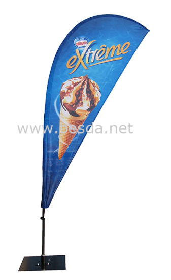 High Quality Advertising Flag/ Promotion Flag /Beach Flag Feather Flag pictures & photos