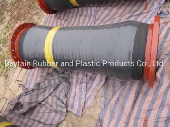 Flexible Rubber Hose Dredging Dredge Dredger Floating Sand Mud Oil Water Mining Drilling Chemical Acid-Base Industrial Hydraulic Rubber Suction