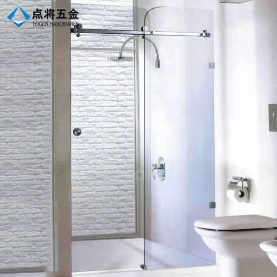 China Fujian Supplier Decorative A Whole Set Frameless Shower Door