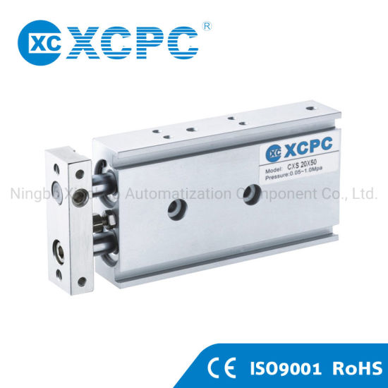 Ce Pneumatic Factory Wholesale Most Popular Cxs Series Double-Shaft Cylinder