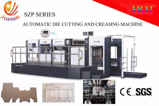 china manual and auto corrugated box die cutting machine china die rh jiasun en made in china com Laser Cutting Machine Metal Cutting Machines