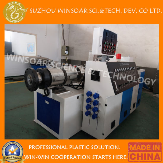 Plastic Extruder- Wood (WPC) PE/PVC Window Profile/Ceiling/Board/Wall Panel/Edge Banding/Sheet/ Pipe Extrusion Production Line