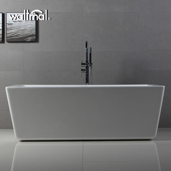Half Discount Stock Warehouse Double Ended Freestanding Bathtub
