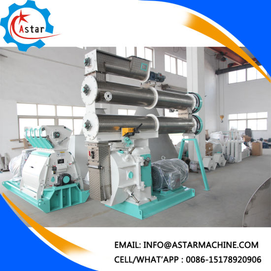 Stainless Steel Ring Die Feed Machine for Sale pictures & photos