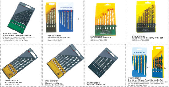 5PCS Masonry Drill Set 5 in 1, Building Drill pictures & photos