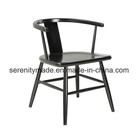 Strange China Elegant Home Furniture Black Wood Armrest Leisure Andrewgaddart Wooden Chair Designs For Living Room Andrewgaddartcom