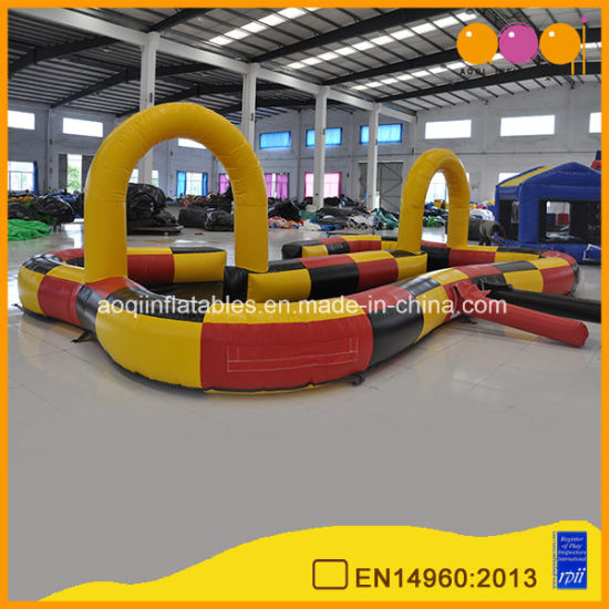 China Bumper Car Inflatable Race Car Track For Go Kart Aq1683 1