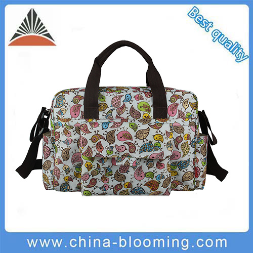 Ladies Fashion Leisure Mummy Handbag Changing Baby Diaper Bag