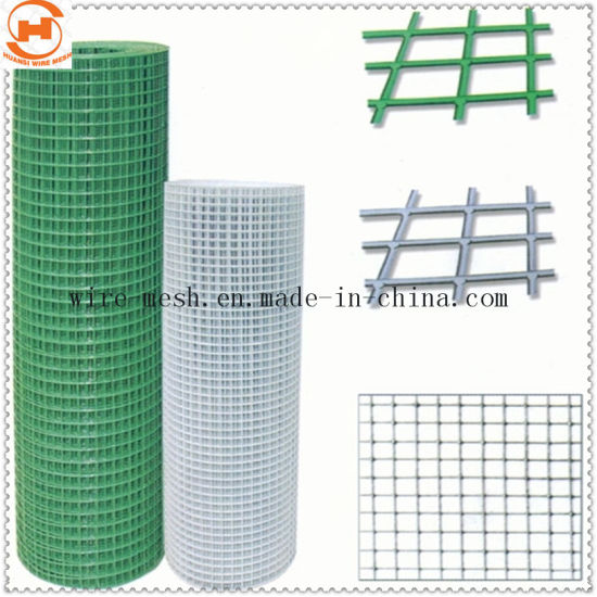 China PVC Coated Welded Wire Mesh/ Welded Square Wire Mesh - China ...